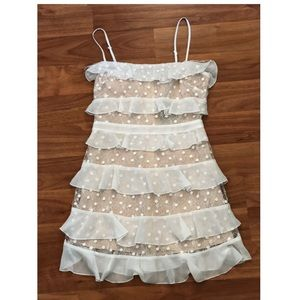 NWOT Ruffle Dress